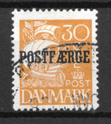Danmark  - AFA PF 11 - stemplet