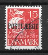 Danmark  - AFA PF 10 - stemplet