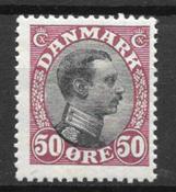 Dinamarca  - AFA 106 - Con charnela