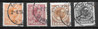 Danemark  - AFA 73-76 - Oblitéré