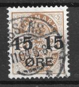 Danmark  - AFA  41 - stemplet