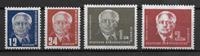 Alemania del Este (RDA) 1950 - AFA  90-93 - Nuevo