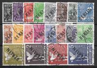 Berlino 1948 - AFA 1-20 - Usata