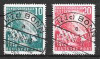 Alemania 1949 - AFA 1074-75 - Usado
