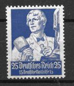 Saksan Keisarikunta 1934 - AFA 556 - Postituoreita