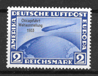 Saksan Keisarikunta 1933 - AFA 492 - Postituoreita