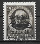 Baviera 1919 - AFA 136 - Usata